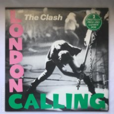 Discos de vinilo: THE CLASH ‎– LONDON CALLING 1980 2LP SIN USO SPAIN. Lote 195186801