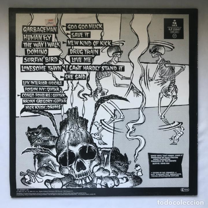 Discos de vinilo: The Cramps – ...Off The Bone 1983 Surfin Bird - Foto 2 - 195187378