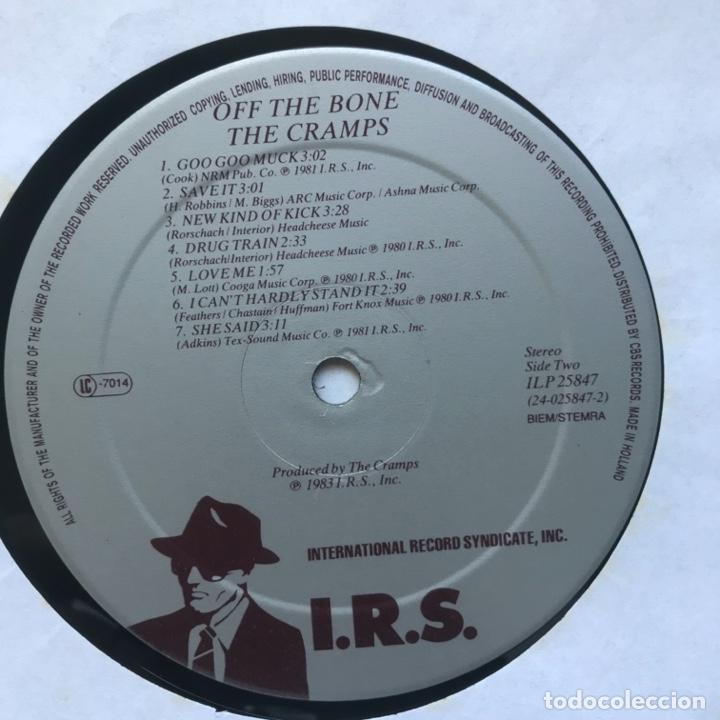 Discos de vinilo: The Cramps – ...Off The Bone 1983 Surfin Bird - Foto 3 - 195187378