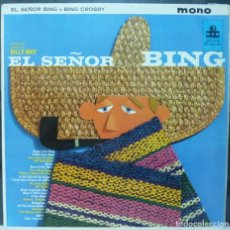 Discos de vinilo: BING CROSBY // EL SEÑOR BING // MADE IN USA // (VG VG).LP. Lote 195189207