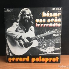 Discos de vinilo: GÉRARD PALAPRAT - HÁZME UNA SEÑA (SINGLE) (DISC'AZ, HISPAVOX) (D:NM). Lote 195190111