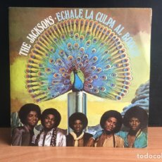 Discos de vinilo: THE JACKSONS - ECHALE LA CULPA AL BOOGIE (SINGLE) (EPIC) EPC 6683(D:NM). Lote 195191183