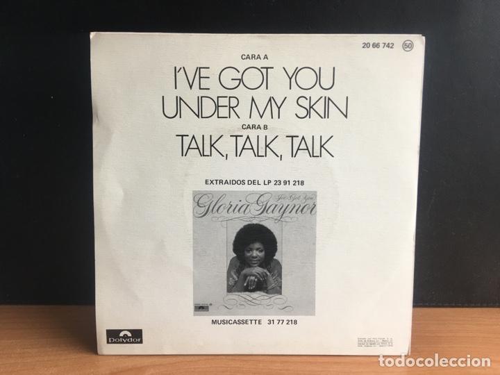 Discos de vinilo: Gloria Gaynor - I Got You Under My Skin / Talk , Talk, Talk (Single) (Polydor) 20 66 74 (D:NM) - Foto 2 - 195191252