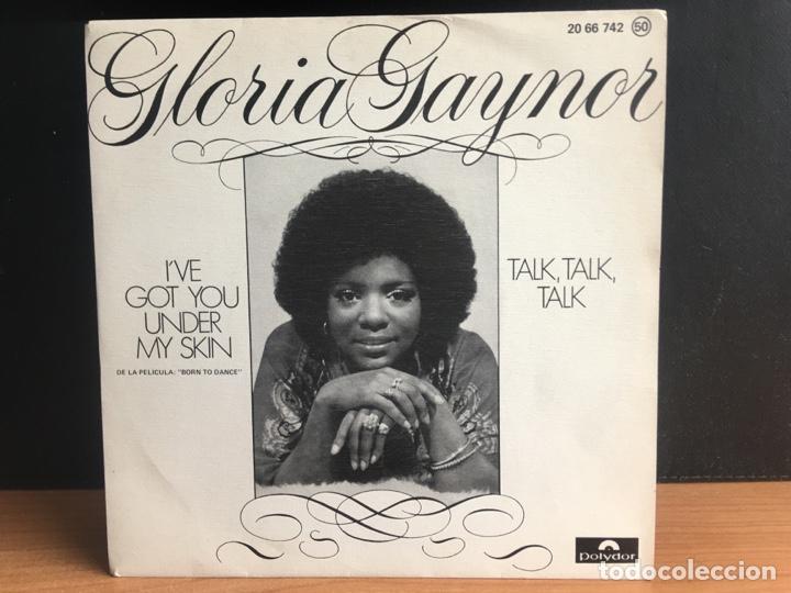 GLORIA GAYNOR - I GOT YOU UNDER MY SKIN / TALK , TALK, TALK (SINGLE) (POLYDOR) 20 66 74 (D:NM) (Música - Discos - Singles Vinilo - Funk, Soul y Black Music)