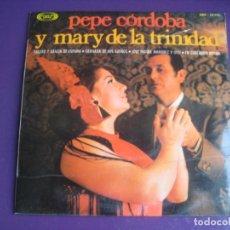 Discos de vinilo: PEPE DE CORDOBA Y MARY DE LA TRINIDAD EP MOVIEPLAY 1971 - SALERO Y GRACIA DE ESPAÑA +3 COPLA RUMBA. Lote 195191665