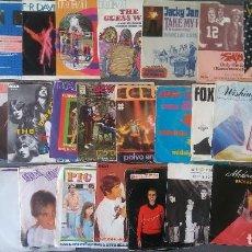 Discos de vinilo: LOTE VINILOS EPS POP ROCK AÑOS 70 80. Lote 195191982