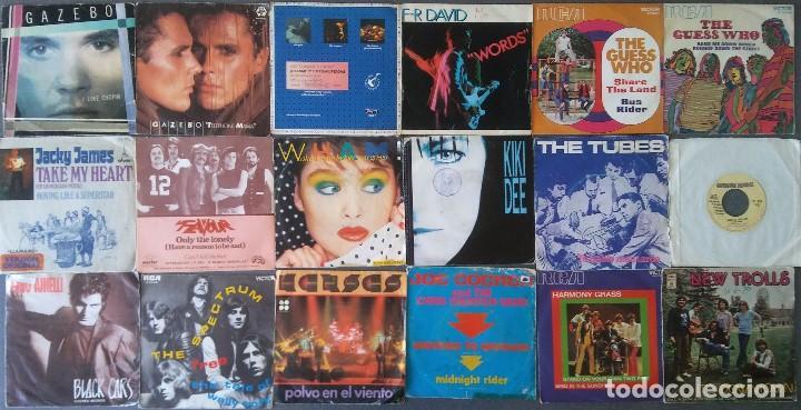 Discos de vinilo: Lote vinilos Eps pop rock años 70 80 - Foto 2 - 195191982