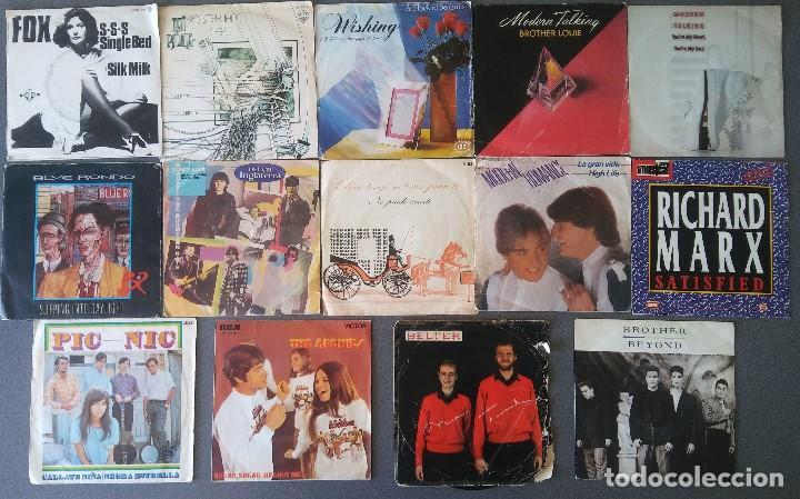 Discos de vinilo: Lote vinilos Eps pop rock años 70 80 - Foto 3 - 195191982