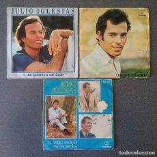 Discos de vinilo: LOTE VINILOS EPS JULIO IGLESIAS. Lote 195192120