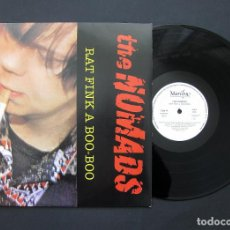 Discos de vinilo: THE NOMADS – RAT FINK A BOO-BOO – VINILO 1987. Lote 195192630