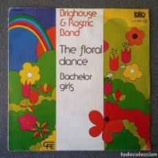 Discos de vinilo: VINILO EP BRIGHOUSE & RASTRICK BRASS BAND THE FLORAL DANCE. Lote 195192873