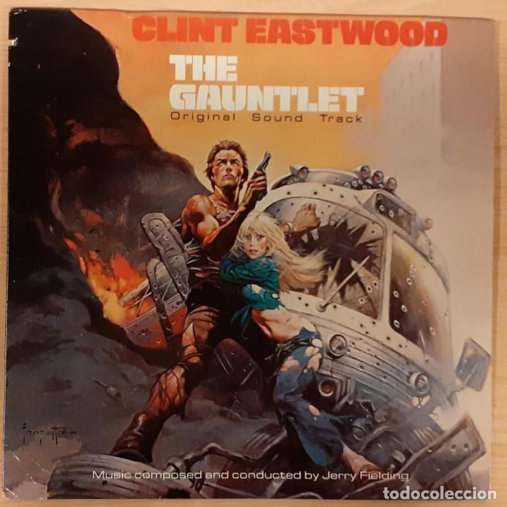 RUTA SUICIDA (THE GAUNTLET) JERRY FIELDING ORIGINAL USA 1978 (Música - Discos - LP Vinilo - Bandas Sonoras y Música de Actores )