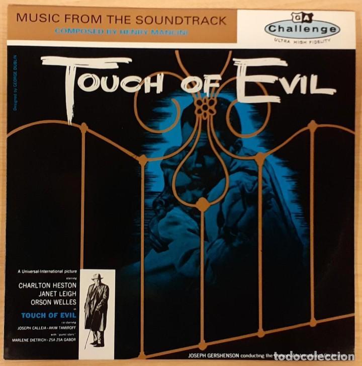 SED DE MAL (TOUCH OF EVIL) HENRY MANCINI ED. ESPAÑOLA 1988 (MUY RARO) COMO NUEVO (Música - Discos - LP Vinilo - Bandas Sonoras y Música de Actores )
