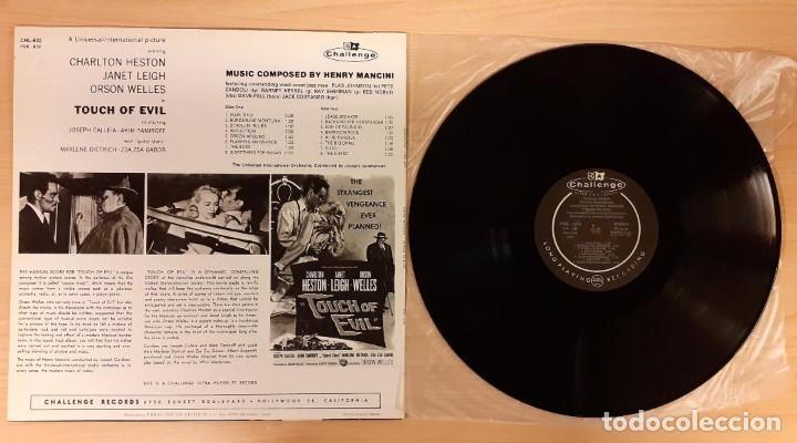 Discos de vinilo: SED DE MAL (TOUCH OF EVIL) HENRY MANCINI ED. ESPAÑOLA 1988 (MUY RARO) COMO NUEVO - Foto 2 - 195193817