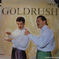 Discos de vinilo: YELLO - GOLDRUSH MAXI SINGLE SPAIN 1986. Lote 195194048
