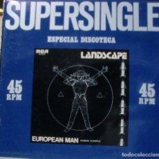 Discos de vinilo: LANDSCAPE - EUROPEAN MAN MAXI SINGLE SPAIN 1981. Lote 195194127