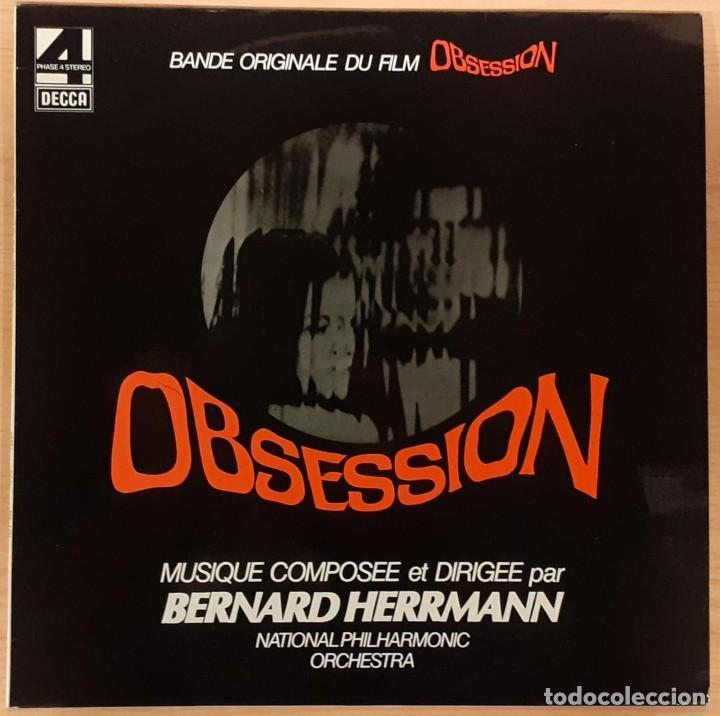 FASCINACIÓN (OBSESSION) BERNARD HERRMANN ED. FRANCESA 1976 (COMO NUEVO) (Música - Discos - LP Vinilo - Bandas Sonoras y Música de Actores )