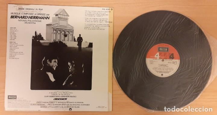 Discos de vinilo: FASCINACIÓN (OBSESSION) BERNARD HERRMANN ED. FRANCESA 1976 (COMO NUEVO) - Foto 2 - 195194158
