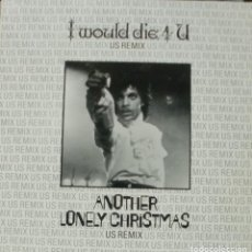 Discos de vinilo: PRINCE - I WOULD DIE 4 U ANOTHER LONELY CHRISTMAS MAXI SINGLE RARO SPAIN 1985. Lote 195194941