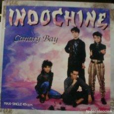 Discos de vinilo: INDOCHINE - CANARY BAY MAXI SINGLE SPAIN 1985. Lote 195195070