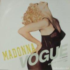 Discos de vinilo: MADONNA - VOGUE MAXI SINGLE GERMANY 1990. Lote 195195147