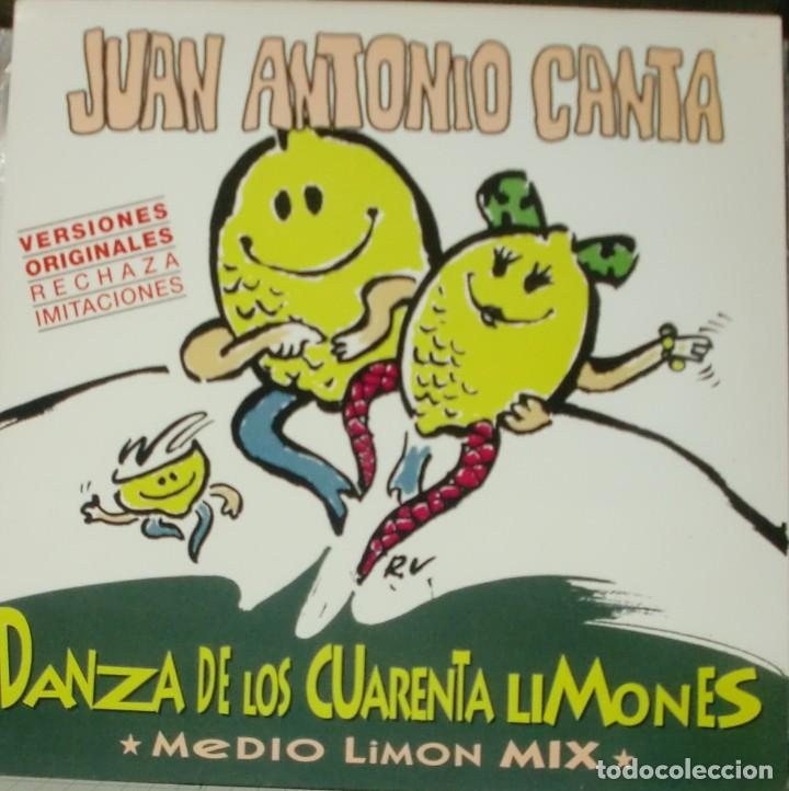 JUAN ANTONIO CANTA - DANZA DE LOS CUARENTA LIMONES MAXI SINGLE SPAIN 1996 (Música - Discos de Vinilo - Maxi Singles - Solistas Españoles de los 70 a la actualidad)
