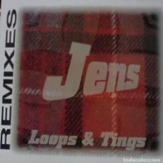 Discos de vinilo: JENS - LOOPS AND TINGS MAXI SINGLE SPAIN 1994. Lote 195196188
