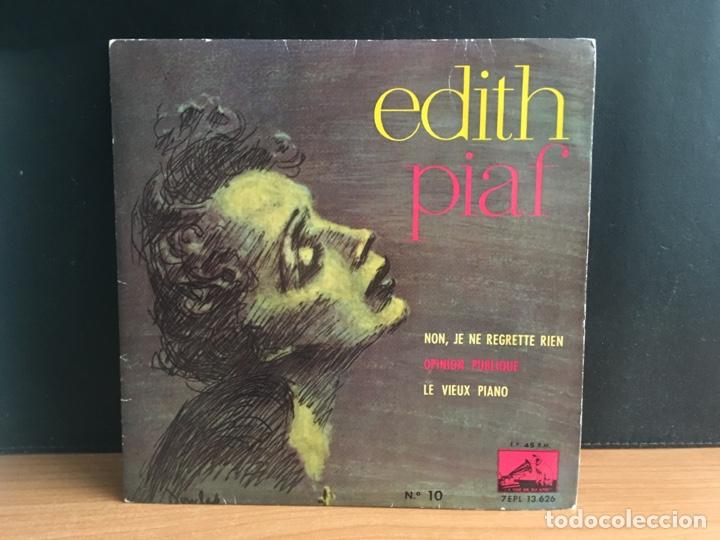 EDITH PIAF - NON, JE NE REGRETTE RIEN (EP) (LA VOZ DE SU AMO) 7EPL 13.62 (D:NM) (Música - Discos de Vinilo - EPs - Canción Francesa e Italiana)
