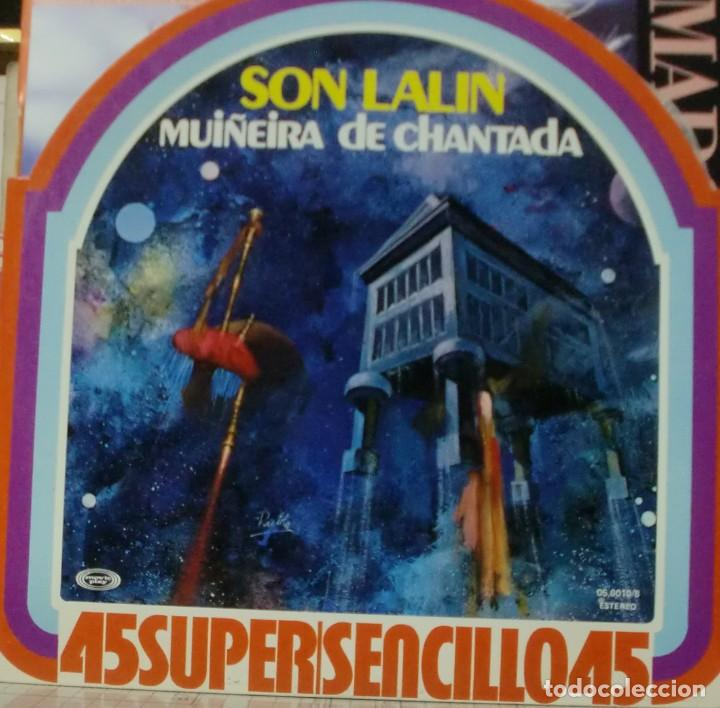 SON LALIN - MUIÑEIRA DE CHANTADA MAXI SINGLE SPAIN 1978 (Música - Discos de Vinilo - Maxi Singles - Grupos Españoles de los 70 y 80)