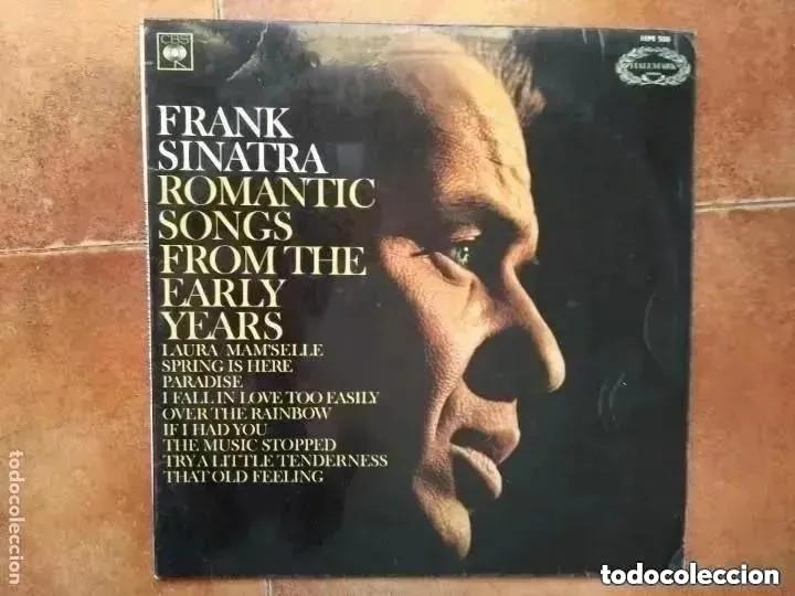 FRANK SINATRA - ROMANTIC SONGS FROM THE EARLY YEARS (LP) 1966 (Música - Discos - LP Vinilo - Cantautores Extranjeros)