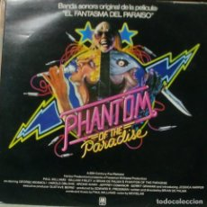 Discos de vinilo: BSO PHANTOM OF THE PARADISE / EL FANTASMA DEL PARAISO - LP SPAIN 1975. Lote 195196813