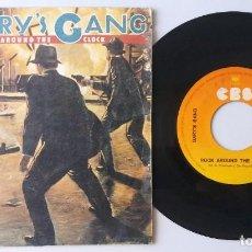 Discos de vinilo: GARY'S GANG / ROCK AROUND THE CLOCK / SINGLE 7 INCH. Lote 195198448