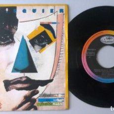 Discos de vinilo: BILLY SQUIER / ROCK ME TONITE / SINGLE 7 INCH. Lote 195198928
