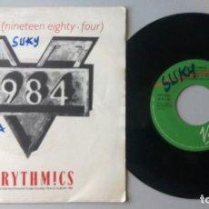 Discos de vinilo: EURYTHMICS / SEXCRIME (NINETEEN EIGHTY-FOUR) / SINGLE 7 INCH. Lote 195199118