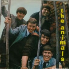 Disques de vinyle: THE ANIMALS - THE ANIMALS LP RARO UK 1964 ESTADO REGULAR. Lote 195199475