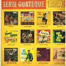 Discos de vinilo: SERIE GUATEQUE - LP 1960. Lote 195200728