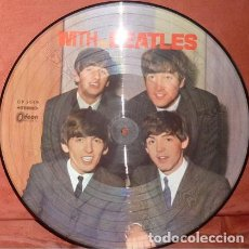 Discos de vinilo: THE BEATLES ‎– WITH THE BEATLES -LP PICTURE-. Lote 195200986
