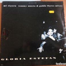 Discos de vinilo: GLORIA ESTEFAN: MI TIERRA TOMMY MUSTO REMIX. Lote 195202047