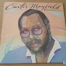 Discos de vinilo: LP CURTIS MAYFIELD HONESTY 1982 UK. Lote 195202051