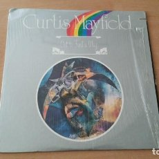 Discos de vinilo: LP CURTIS MAYFIELD GO TO FIND AWAY CURTOM 1974 USA. Lote 195202530