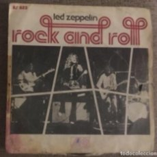 "Discos de vinilo: LED ZEPPELING: ROCK AND ROLL 7"". Lote 195203155"