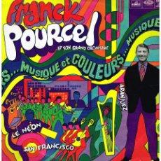 Discos de vinilo: FRANCK POURCEL - AMOUR, DANSE ET VIOLONS 29 - LP ED. FRANCIA. Lote 195203603