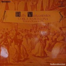 Discos de vinilo: BALLS VUITCENTISTES COBLA BARCELONA - TENORA: RAMÓN PLÀ - COLUMBIA 1969. Lote 195205500