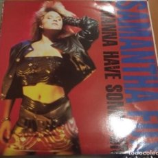 Discos de vinilo: SAMANTHA FOX: I WANNA HAVE SOME FUN. Lote 195205778