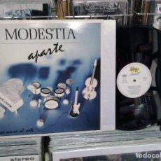 Discos de vinilo: LMV - MODESTIA APARTE. POR AMOR AL ARTE. SALAMANDRA 1988, REF. SD-301 -- LP. Lote 195206033