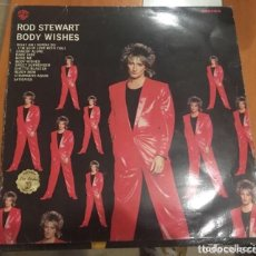 Discos de vinilo: ROD STEWART: BODY WISHES. Lote 195206673