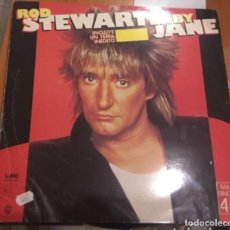 Discos de vinilo: ROD STEWART: BABY JANE. Lote 195206911