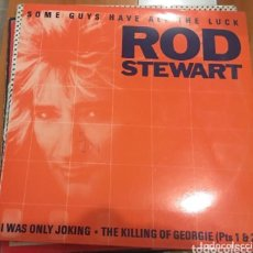 Discos de vinilo: ROD STEWART: SOME GUY/ I WAS ONLY. Lote 223493187