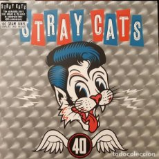Discos de vinilo: STRAY CATS 40 LP . ROCKABILLY BRIAN SETZER ROCK AND ROLL GENE VINCENT COCHRA. Lote 195207582