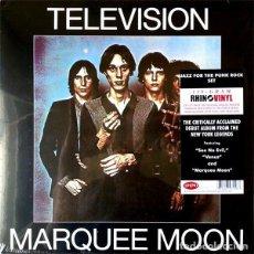 Discos de vinilo: TELEVISION MARQUEE MOON LP . TOM VERLAINE RICHARD LLOYD PUNK ROCK CBG. Lote 195208517